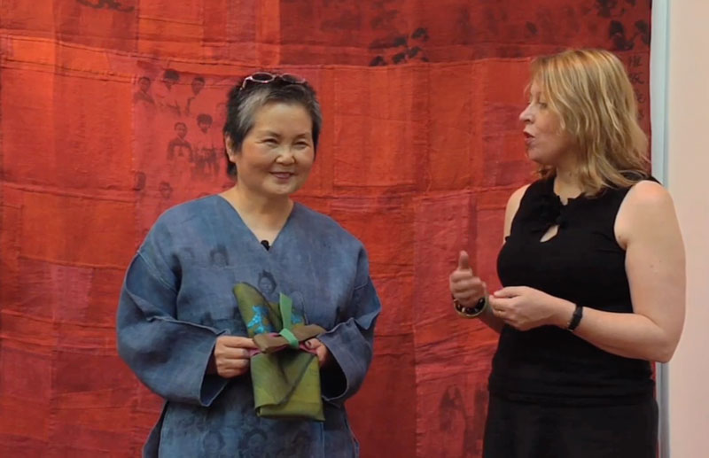 Chunghie Lee: Pojagi and Beyond