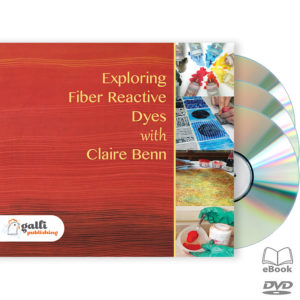 Exploring Fiber Reactive Dyes → DVD (Ships same day)