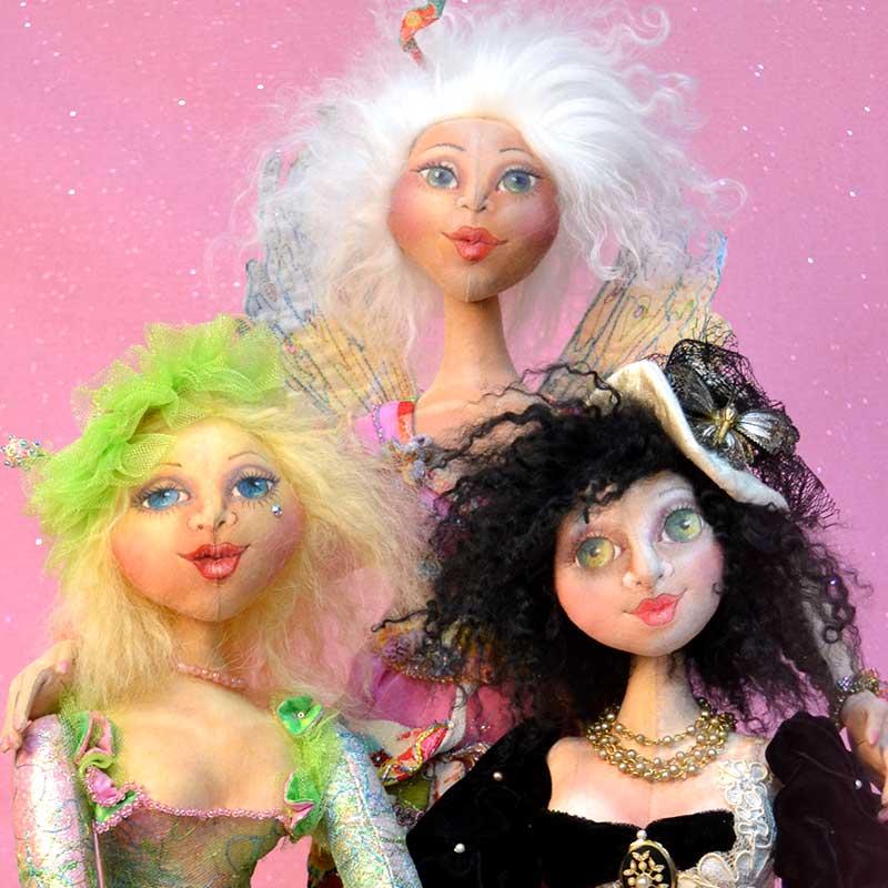 Cloth Doll Making Workshops featuring Patti Medaris Culea