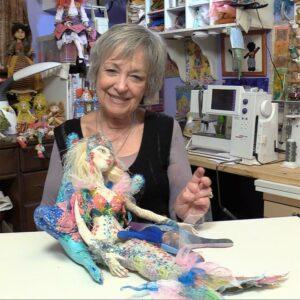 Cloth Doll Mermaids • Patti Medaris Culea