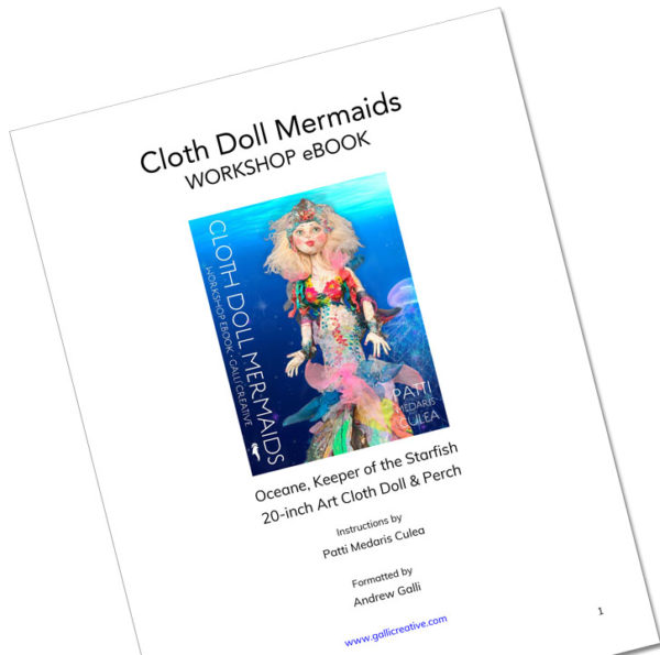 Image of Doll Pattern PDF — from Cloth Doll Mermaids featuring Patti Medaris Culea