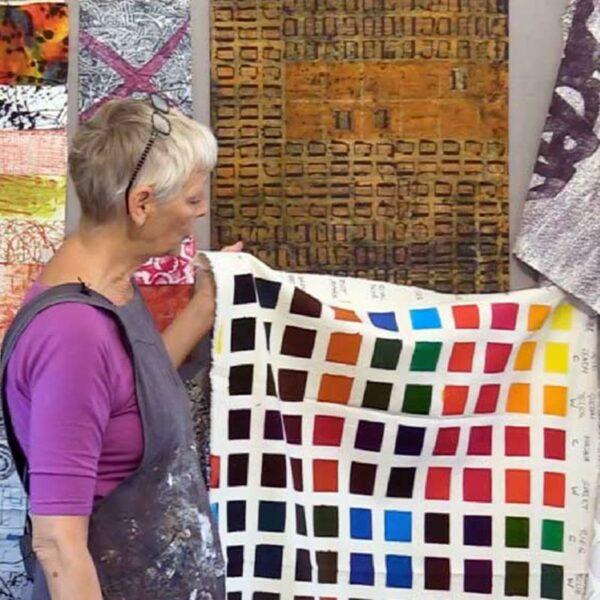 Exploring Fiber Reactive Dyes Workshop featuring Claire Benn