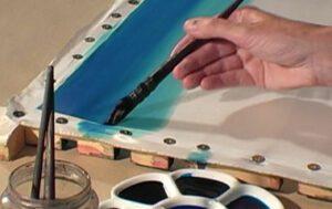 Jill Kennedy Silk Painting 2