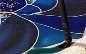 Jill Kennedy Silk Painting 4