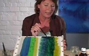 Jill Kennedy Silk Painting 5