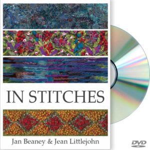 "Cover Image from ""In Stitches"" featuring Jan Beaney & Jean Littlejohn"