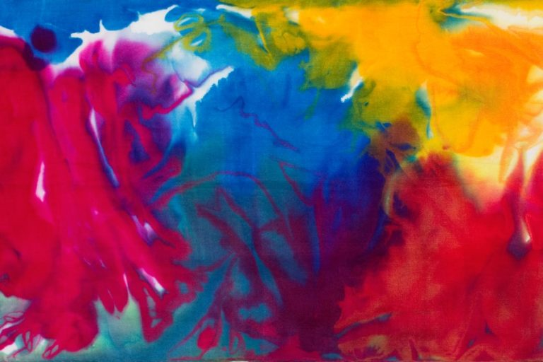 dyeing silk scarves demonstration from color by accident with ann johnston - video workshop