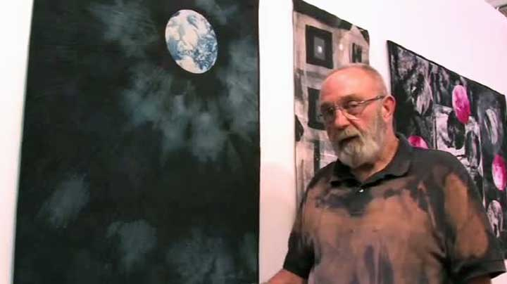 Bob Adams Quilting – Discharging Dye from Cloth Demonstration