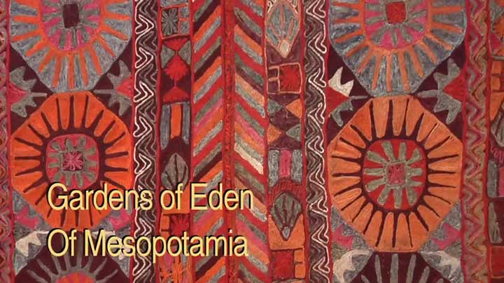 """""""Gardens of Eden"""" – Embroidered Wedding Rugs of Southern Iraq"""