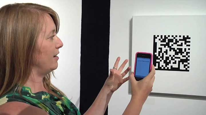 Michele Pred: Deciphering Embroidered Bar Codes with an iPhone