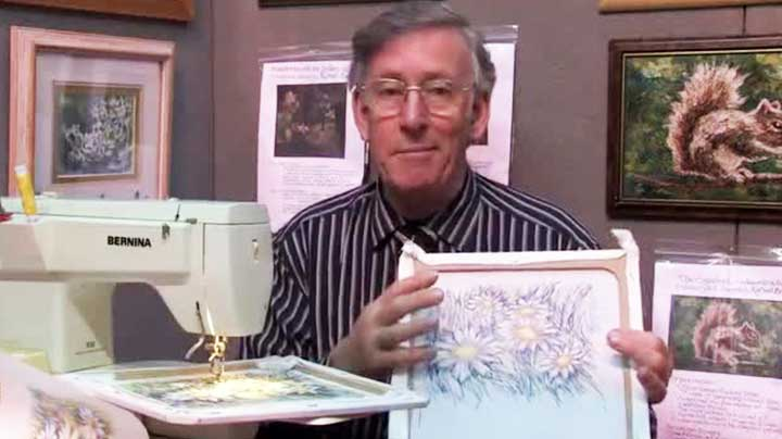 Richard Box – From Drawing to Free Hand Machine Embroidery
