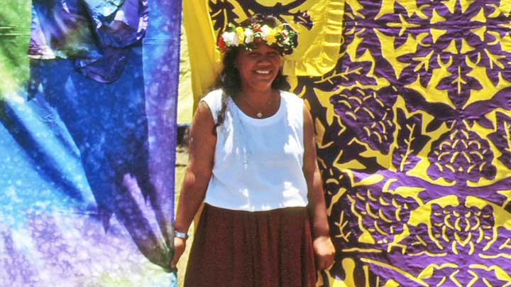 Tivaevae Quilting Treasures from the Cook Islands, New Zealand