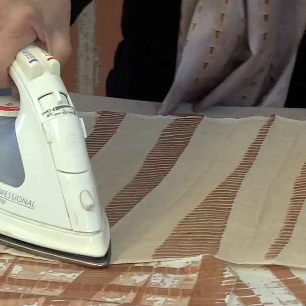 07.kakishibu Persimmon Tannin Shibori Paper Fabric Analisa Hedstrom