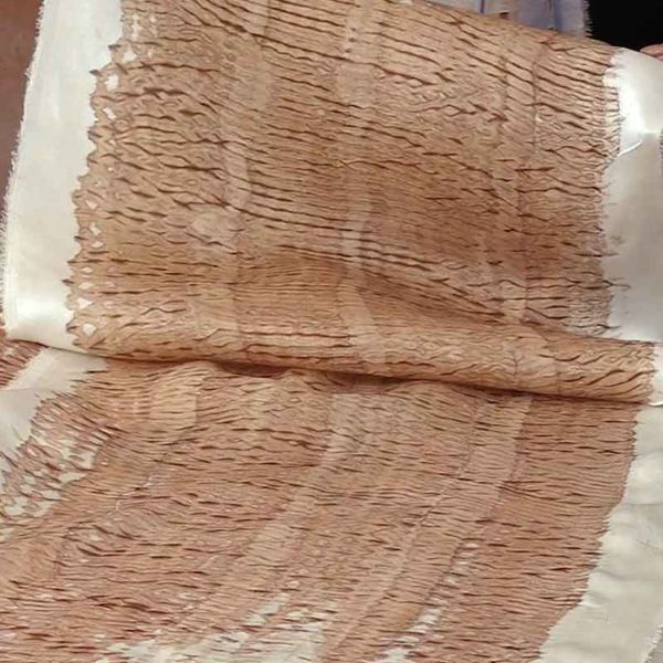 10.kakishibu Persimmon Tannin Shibori Paper Fabric Analisa Hedstrom