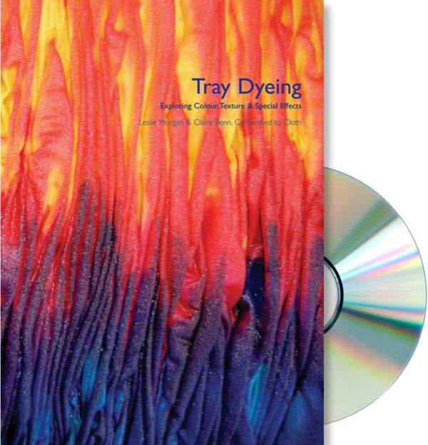 tray dyeing